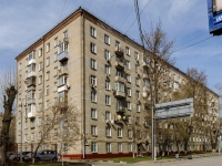 Danilovsky district,  , house 19 к.1. Apartment house