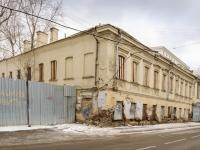 Даниловский район, Кожевнический 2-й переулок, дом 7А. неиспользуемое здание