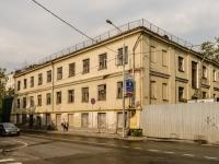 Даниловский район, Кожевнический 2-й переулок, дом 7 с.2. неиспользуемое здание