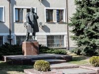улица Автозаводская. памятник В.И.Ленину