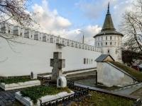 улица Даниловский Вал. памятник архитектуры Нагорная башня (Данилов ставропигиальный мужской монастырь)