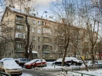 Даниловский район, Духовской переулок, дом 20А. многоквартирный дом