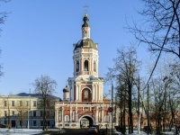 , square Donskaya, house 1 с.25. temple