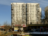 район Нагатино-Садовники, проезд Коломенский, дом 8 к.1. многоквартирный дом