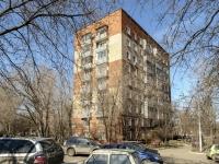 район Нагатино-Садовники, проезд Коломенский, дом 23 к.1. многоквартирный дом