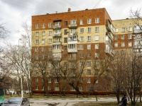 район Нагатино-Садовники, проезд Коломенский, дом 23 к.3. многоквартирный дом