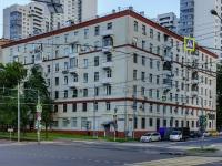 Нагатино-Садовники район, улица Нагатинская, дом 6. многоквартирный дом