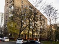 Нагатино-Садовники район, улица Нагатинская, дом 8. многоквартирный дом