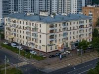Нагатино-Садовники район, улица Нагатинская, дом 10. многоквартирный дом