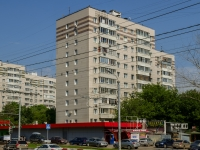 Нагатино-Садовники район, улица Нагатинская, дом 13 к.1. многоквартирный дом