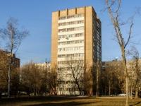 Нагатинский Затон район, улица Судостроительная, дом 1 к.2. многоквартирный дом