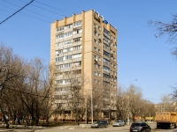 Нагатинский Затон район, улица Речников, дом 14 к.1. многоквартирный дом