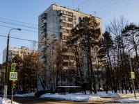 район Царицыно, улица Бакинская, дом 5. многоквартирный дом