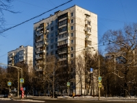 район Царицыно, улица Бакинская, дом 11. многоквартирный дом