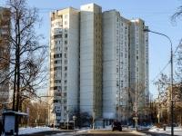 район Царицыно, улица Бакинская, дом 18. многоквартирный дом