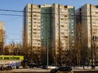 район Царицыно, улица Бакинская, дом 19. многоквартирный дом