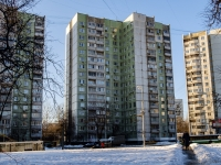 район Царицыно, улица Бакинская, дом 20. многоквартирный дом