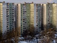 район Царицыно, улица Бакинская, дом 21. многоквартирный дом
