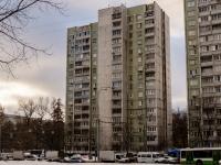 район Царицыно, улица Бакинская, дом 22. многоквартирный дом