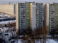 район Царицыно, улица Бакинская, дом 23. многоквартирный дом