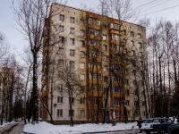 район Царицыно, улица Бехтерева, дом 7 к.1. многоквартирный дом