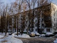 Царицыно район, Пролетарский проспект, дом 16 к.1. многоквартирный дом
