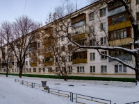 Царицыно район, Пролетарский проспект, дом 16 к.3. многоквартирный дом