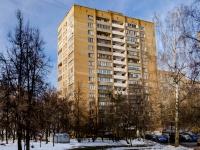 Царицыно район, Пролетарский проспект, дом 45. многоквартирный дом