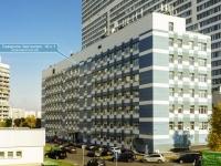 район Чертаново Северное, Северное Чертаново микрорайон, дом 1А к.1. многофункциональное здание