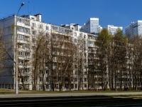Чертаново Северное район, улица Чертановская, дом 2/11. многоквартирный дом