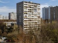 Чертаново Северное район, улица Чертановская, дом 5 к.1. многоквартирный дом