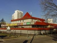 район Чертаново Северное, проезд Сумской. многофункциональное здание