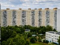 район Чертаново Южное, Варшавское шоссе, дом 152 к.7. многоквартирный дом