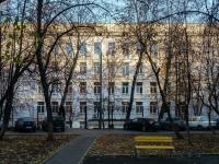 , st Dmitry Ulyanov, house 15 к.1. school