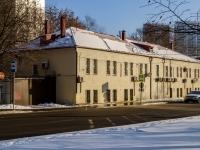 , st Dmitry Ulyanov. office building