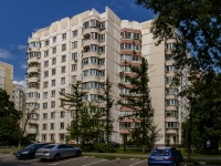 Академический район, улица Шверника, дом 7. многоквартирный дом