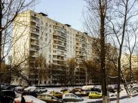 Зюзино, улица Азовская, дом 4. многоквартирный дом