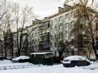 Зюзино, улица Азовская, дом 12 к.1. многоквартирный дом