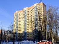 Зюзино, улица Азовская, дом 12 к.3. строящееся здание