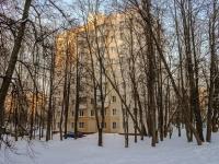 Зюзино, улица Болотниковская, дом 21 к.1. многоквартирный дом