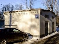 Зюзино, улица Болотниковская, дом 28 к.2СТР1. хозяйственный корпус