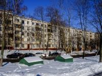 Зюзино, улица Керченская, дом 2 к.1. многоквартирный дом