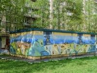 , st Dmitry Ulyanov, house 43 к.3СТР1. service building