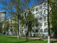 Обручевский район, улица Профсоюзная, дом 60 к.1. многоквартирный дом