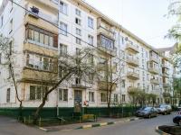 Черёмушки район, улица Архитектора Власова, дом 9 к.1. многоквартирный дом