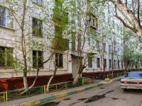 Черёмушки район, улица Архитектора Власова, дом 13 к.1. многоквартирный дом