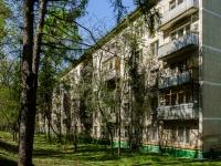Черёмушки район, улица Архитектора Власова, дом 15 к.1. многоквартирный дом