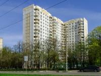 улица Архитектора Власова, дом 17 к.1. многоквартирный дом