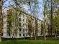 Черёмушки район, улица Каховка, дом 18 к.5. многоквартирный дом