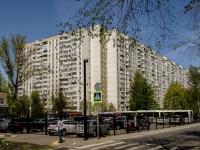 Черёмушки район, улица Новочерёмушкинская, дом 50. многоквартирный дом